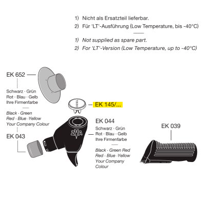 Компания «Техника Топлива» представляет схему монтажа индикаторной насадки ЕК 145