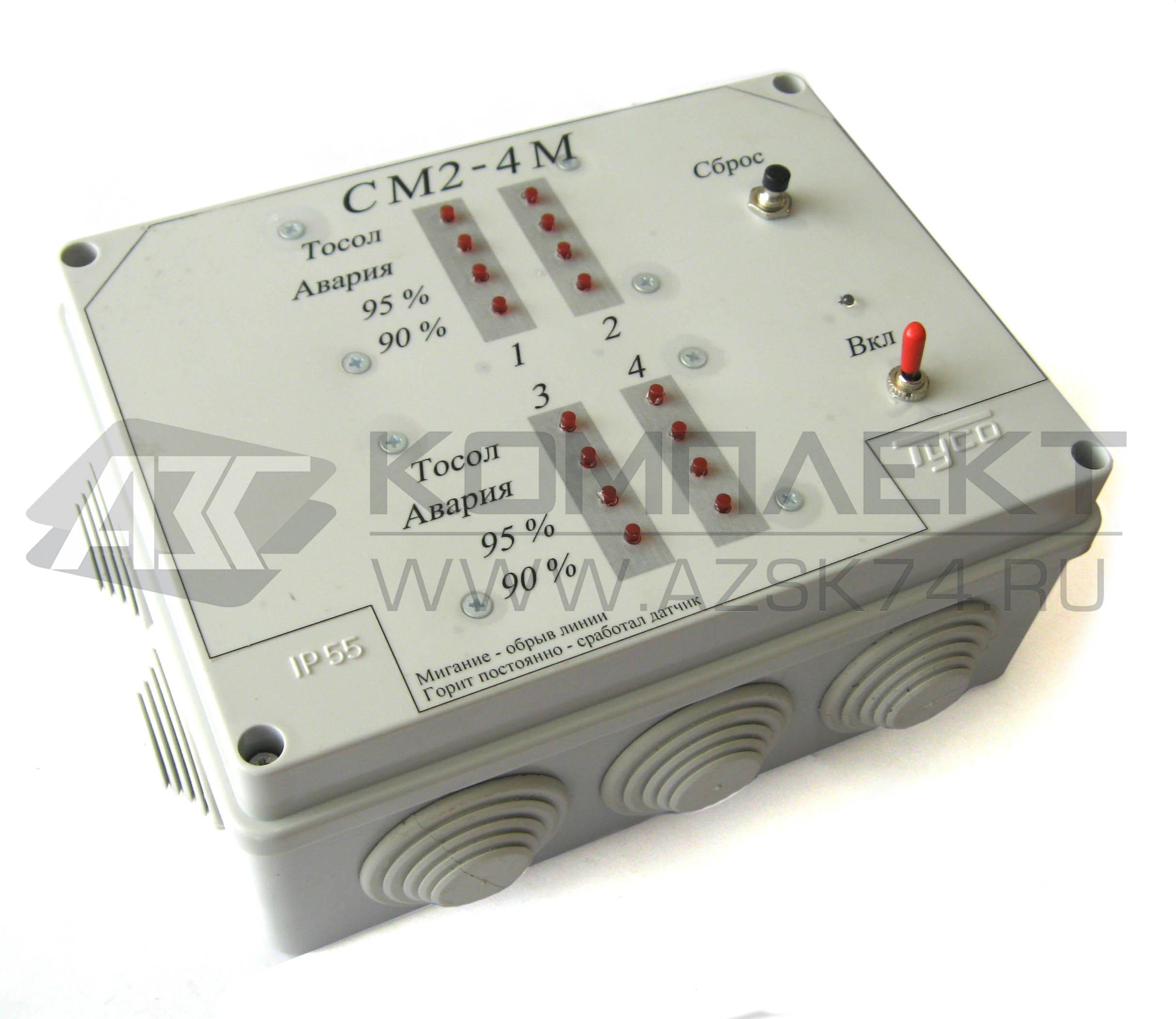 Сигнализатор многоканальный МС-П-6У-1И-ГС